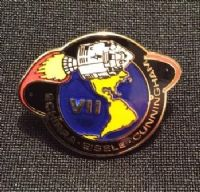 NASA Apollo 7 Mission Lapel Pin